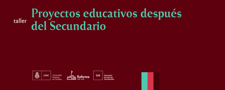 Proyectos Educativos después del Secundario