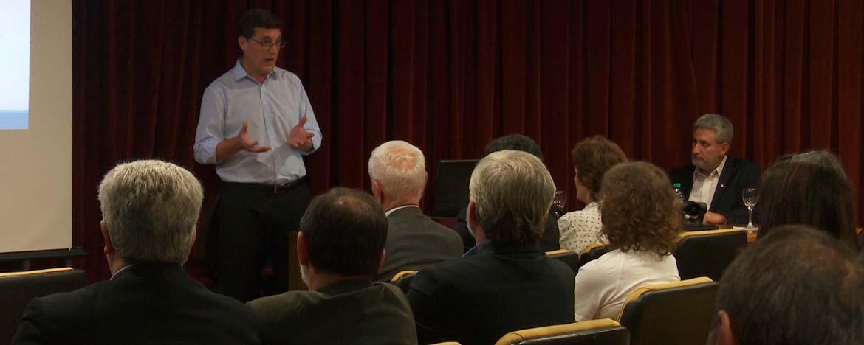 Pablo Manzo presentó los lineamientos para su gestión al frente del Centro de Química Aplicada