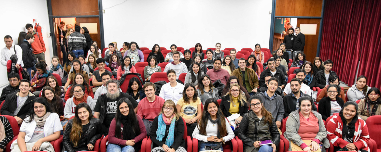 Estudiantes que participarán del programa Compromiso Social Estudiantil
