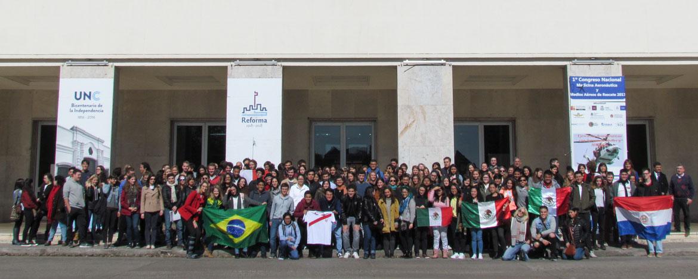 Bienvenida a Estudiantes Extranjeros segundo semestre en la UNC