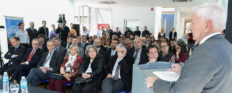 Rector Juri en convenio con Ministerio de Justicia y Derechos Humanos