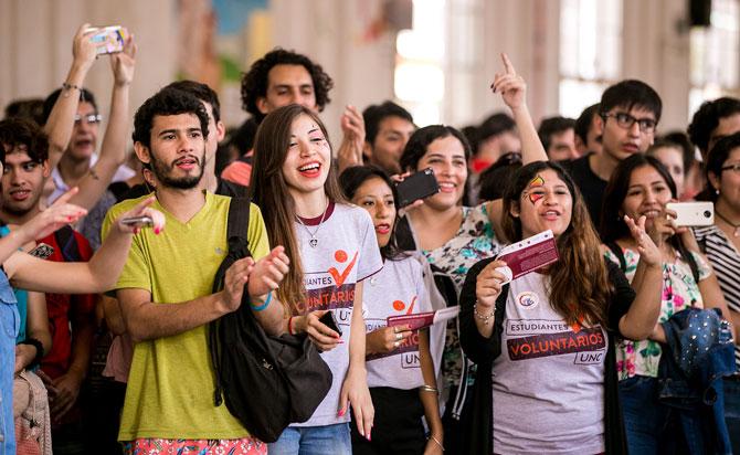 Se present el programa compromiso social estudiantil for Comedor universitario unc