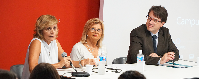 Cecilia Cravero, directora del Campus Virtual UNC