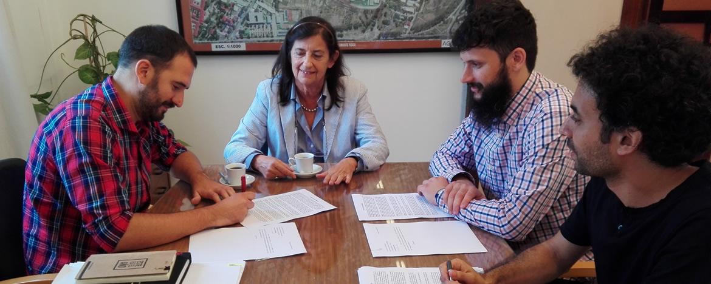 Firma contrato campus virtual