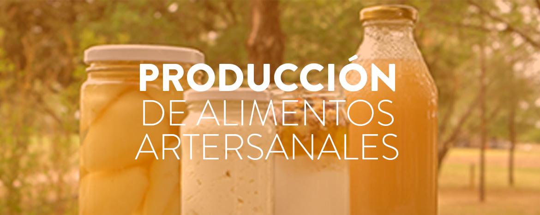 Curso Producción de alimentos artesanales
