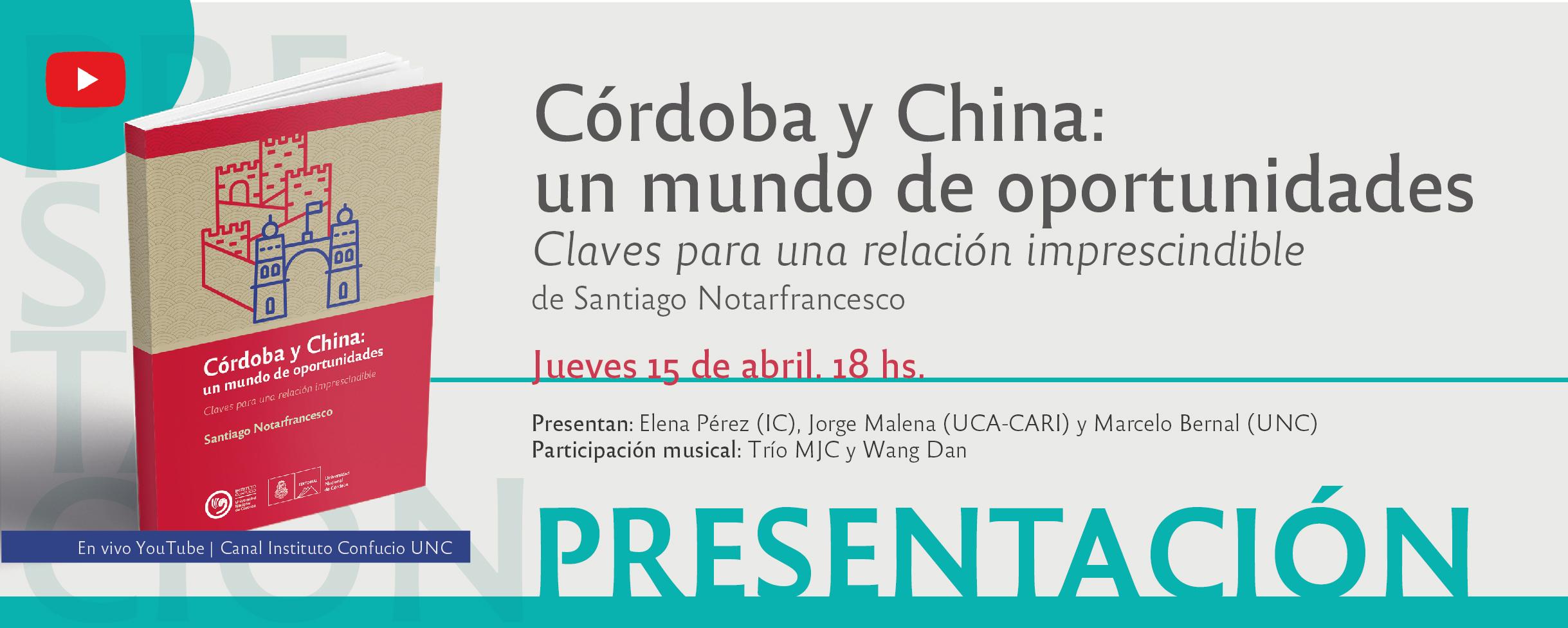 Presentación del libro Córdoba y China