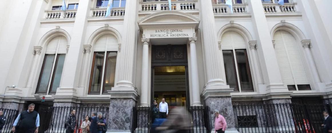 Fachada Banco Central de la República Argentina