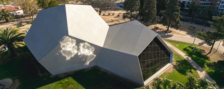 The Plaza Cielo y Tierra Interpretive Center