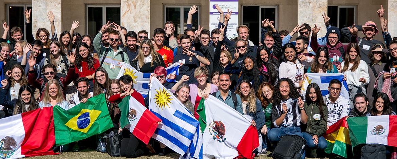 La UNC recibió a los estudiantes internacionales y les dio la bienvenida |  Universidad Nacional de Córdoba